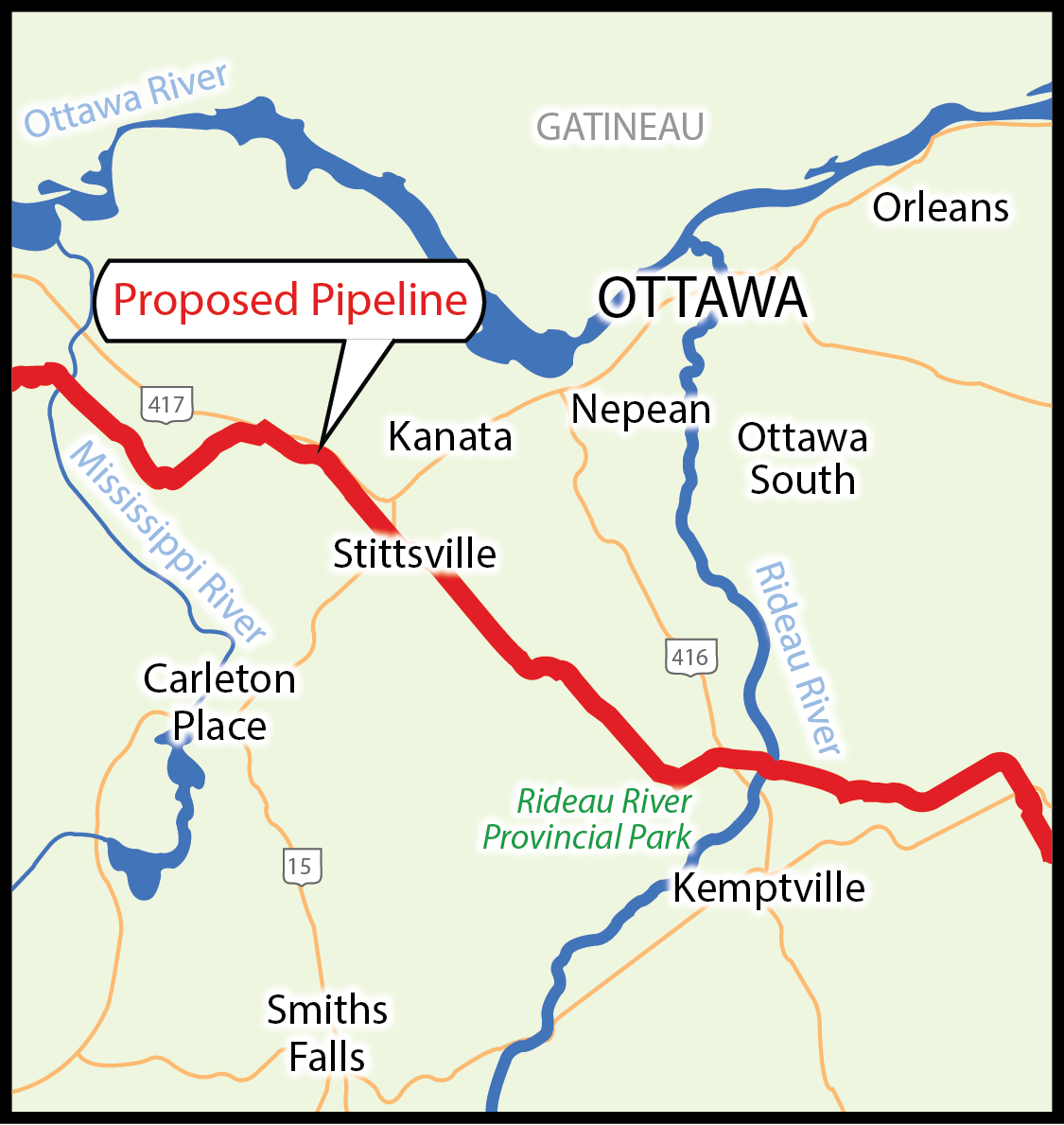 a tar sands pipeline in the city of ottawa ecology ottawa