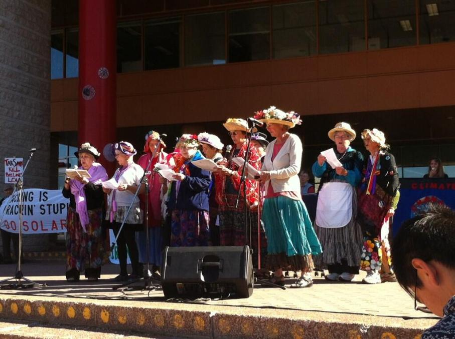 The Raging Grannies
