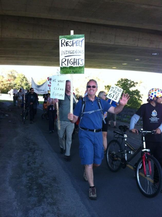 Smiling ecojustice warriors for #tarfree613