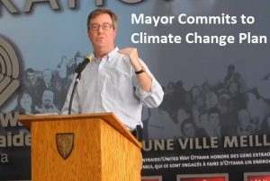 Mayor Commits to Climate Change Plan