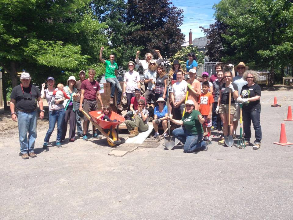 Successful Depave at St. Anthony | Ecology Ottawa