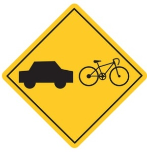 bike-car-caution