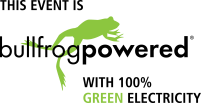 Logo - This event is bullfrogpowered